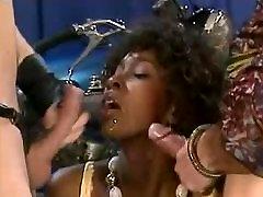 Ebony Milf vs DP Fuck