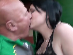 2 horny grandpas love Mellina 19