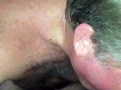 Hairy Older Bob sucking Younger Asian