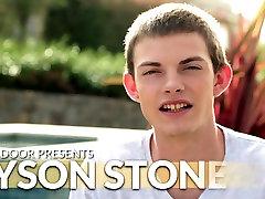 Next Door Twink Introducing College Boy Tyson Stone