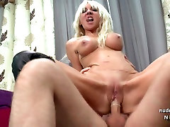 Horny big titted french mature fucked hard
