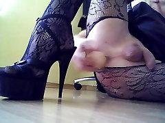 ass fuck with a dildo