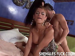 Get spit roasted by a tranny and your boyfriend