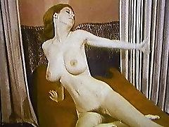 THE LOOK OF LOVE - vintage striptease big boobs & lingerie