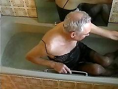 black Marks & Spencer slip bath.