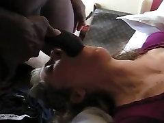 אישה לבנה לוקחים 2 BBcs