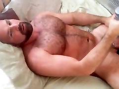 Hot bear - edging, cum, dildo