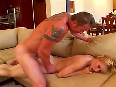 Blonde Takes Awesome Anal Sex Pounding