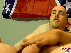 Robert gets his big cock sucked after showing off his body