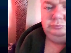 straight perfect bear watching my cock wow
