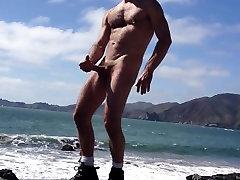Jerking on the Beach