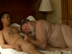 ASIAN FRIEND FUCKS HANDSOME not dadDY