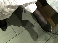 not mother In Laws Nylon Feet In Toes Secretly Filmed 01