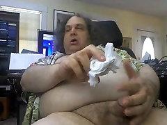 Hug bear with big cock