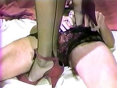 Retro Classic - CD & Girl Action in Lingerie Creampie