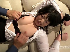 Tied up Busty Asian bdsm session - Ai Uehara - Uncensored