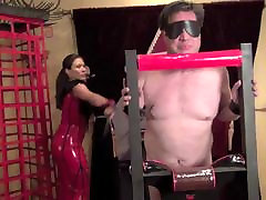 Mistress Mena Li Asian Cruelty FemDom Whipping