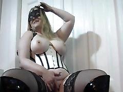Milf wife big tits masturbating