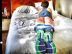 Ready ,...Set ,...Spank! The Spanking of a Defiant Runner