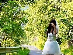 Runaway Sissy Ladyboy Bride