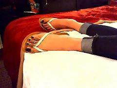 long black toenails