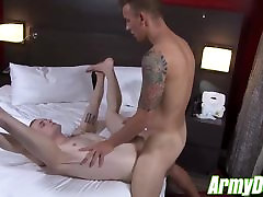 Matthew Reeves drills hungry bottom Colton Phobos hole