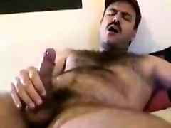 Gay Bear daddy Cums