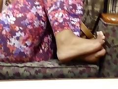 HS Friend&039;s Candid Beautiful Ebony Feet 3
