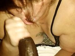 Big butt bbw sucks a mean dick