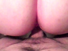StrawberryWife fucked doggiestyle by hubby and squirting