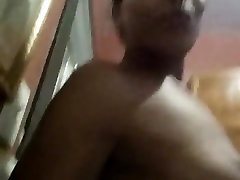 Black Shemale About To Shower