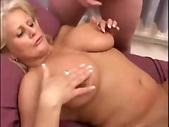 Busty British Mature Anal and DP