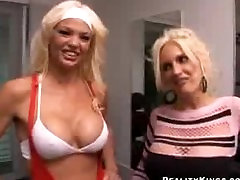 2 hot MILF s get fucked by 1 funny dude