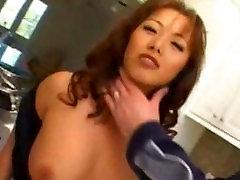 Asian anal milf