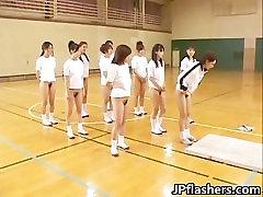Incredible hot nihonjin honies flashing part6