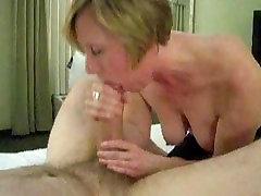 Mature Wife Milks Off Husbands Big Dick