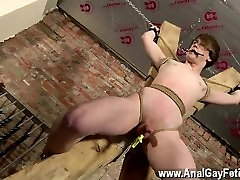 Red hair asian twink tube A the right time, the tormentor yanks those