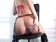 Loura from DATES25.COM - Blonde milf masturbating and anal creampie