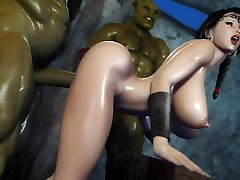 Secret Of Beauty Orc Ritual Uncensored 3D Hentai