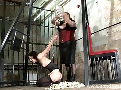 Kinky Elise Graves lesbian bondage and advanced rope works of american