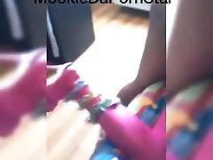 Ebony Mz Sasha Love Getting Dick Down By MookieeDaPornStar