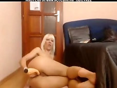 Sexy Mature Blonde With Big Boobs Anal Dildo