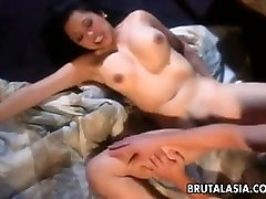 One busty brunette asian slut suck. Betsy from 1fuckdate.com