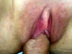 she likes to play with herself before getting creampied