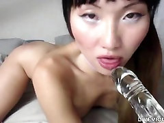 Barely 18 tiny pierced Korean doll with high heels