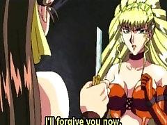 Hentai mistress dildo fucks tight sex holes