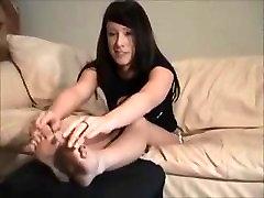 Megan Wants Feet Slave