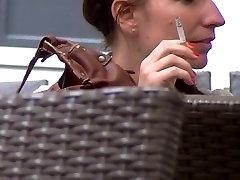 smoking fetish candid 41