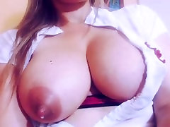 Thick latina with great nipples on webcam.My X-mas webcam: 4xcams.com