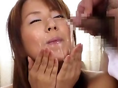 Never have I seen a love of cum like this